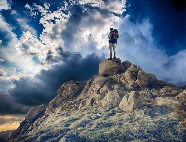 perseverenţa - poză alpinism