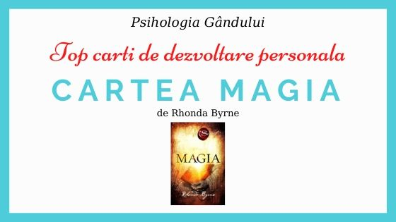 recenzie cartea magia de Rhonda Byrne