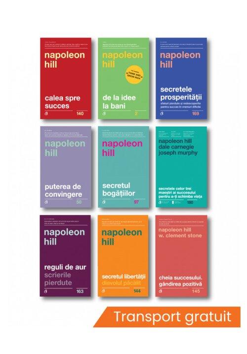 pachet 9 cărţi Napoleon Hill